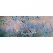 "Trademark Fine Art ""Water Lilies"" 1914-22 Canvas Art by Claude Monet. Brand New"