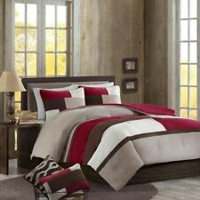 Better Homes and Gardens Microsuede Pieced Bedding Comforter Mini Set/Decorative