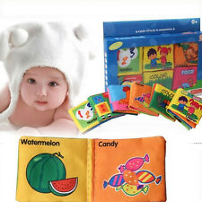 Baby Child Soft Cloth books Intelligence Development Picture Cognize Toy Books