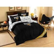 NCAA Applique Bedding Comforter Set with Sheets, Towson State. Shipping Included