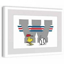 Peanuts Woodstock Playing Ball Framed Art Print. Shipping Included
