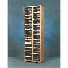 Wood Shed 200 Series 128 DVD Multimedia Storage Rack. Shipping Included