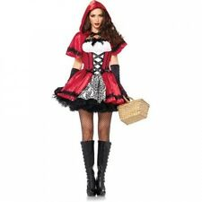 Gothic Red Riding Hood Adult Halloween Costume. Best Price
