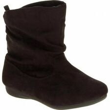 Faded Glory Girls' Classic Slouch Pull On Boot. Best Price