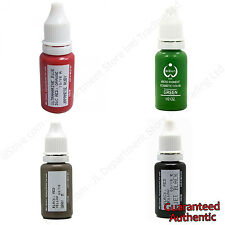 USA Biotouch MicroPigment Tattoo Ink 15ml Gray Green Japanese Ruby Jet Black