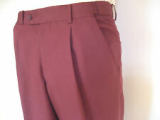 New! City Club Men's Maroon Trousers. Only $75 with Free Postage!
