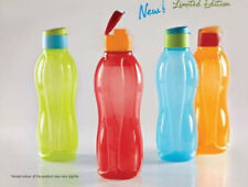 4x TUPPERWARE Flip Top Bottles AQUASAFE 750mL & 1000ml *Chs Yr Qnty *SHIPS FREE