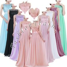 Elegant Women's Lace Party Embroidered Prom Gown Evening Cocktail Party Dresses