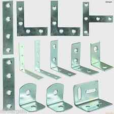 ANGLE CORNER BRACES, STRAIGHT MENDING CORNER STRETCHER TEE PLATES ZINC PLATED