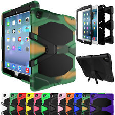 For iPad mini 1 2 3 Shockproof Hybrid Rugged Protect Heavy Duty Kickstand Case