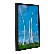 ArtWall Steve Ainsworth 'Air Force Memorial ' Gallery-wrapped Floater-framed Can
