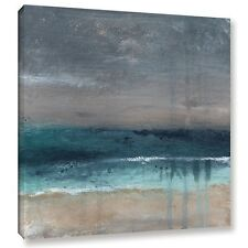 ArtWall Linda Woods's Beach V, Gallery Wrapped Canvas. Free Shipping