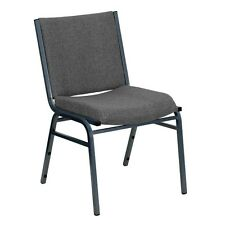 Santem Grey Upholstered Stack Dining Chairs. Free Shipping