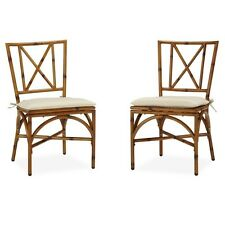 Bimini Jim Dining Chair Pair with Cushion. Shipping is Free