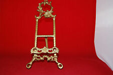 BRASS Picture / Book Stand Easel probably Victorian