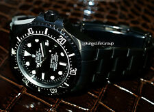 Black ROLEX Deep Sea KingsLife EDITION Ceramic 116600 in DLC / PVD