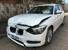 2012 BMW 118 2.0TD SE CAT D DAMAGE SALVAGE REPAIRABLE