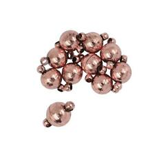 10Sets Two Parts Round Strong Magnetic Clasps Jewelry Making Findings