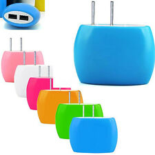 2A Dual USB Ports Home Wall AC Power Charger Adapter for iPhone 6S US Plug New