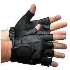 MOTORCYCLE  GLOVES SHORTY GLOVES UNISEX, RIDING  GEL PALM,VELCRO ENCLOSURE