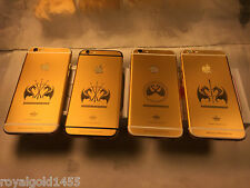 UNLOCKED IPHONE 6S 128GB 24K 24CT REAL GOLD&DIAMOND ELITE LIMITED EDITION