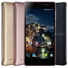 """5"""" Unlocked Quad Core Dual SIM 3G Smartphone Cell Phone 8GB Android 5.1 GSM GPS"""