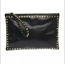 Fashion Rivet Handbag Shoulder Bag Purse Wristlet  Womens Clutches Evening Bags