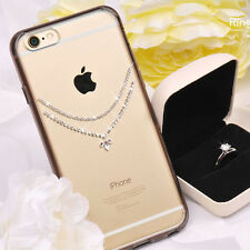 iPhone 6/6s, 6/6s Plus Case Fitted Cover Swarovski Ringke Noble Necklace 2types