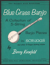 Blue Grass Banjo a Collection of 5 String Banjo Pieces in Scruggs