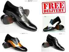 BRAND NEW MENS LEATHER BROGUE FORMAL LACE UP SHOES WARRANTY SIZE 6 7 8 9 10 11