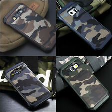 Camouflage Samsung Galaxy Note 4 Case Military Camo Army Rugged Rubber Cover