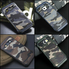 Camouflage Samsung Galaxy Note 5 Case Military Camo Army Rugged Rubber Cover