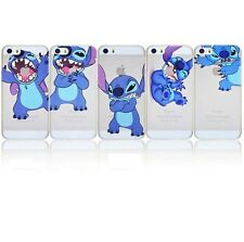 Apple iPhone 6s 6 Stitch Case Hard Back Clear Cover + Screen Protector