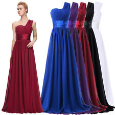 Grace Karin@ Long Wedding Bridesmaid Dress Evening Formal Party Ball Gown Prom