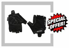 Raleigh RSP Pro Sport Mitt Mitts Race Cycle Bike Bicycle Gloves Padded Black 304