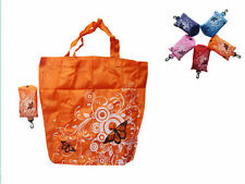 Tote Shopping Shoudler Reusable Bags Pouch Folding New Eco Shopper Clips