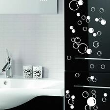 86 Floating Bubble Wall Paper Decal Bathroom Tile Window Decoration Art Stickers