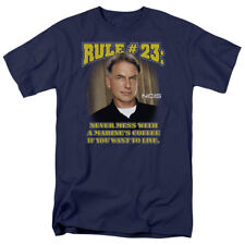 NCIS TV Show Gibbs Rule #23 Never Mess with a Marine's Coffee Tee Shirt S-3XL