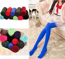 Sexy Tights Womens Slim Socks New Candy Color Opaque Footed Elastic Pantyhose