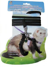 Small Animal Harness & Lead Ferret Rabbit Guinea Pig rodent walking pet cavy