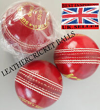 Match Quality Leather Cricket Ball Grade A Senior 5.5oz Professional Practice