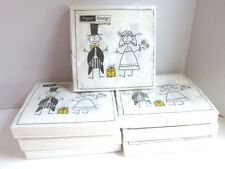 "7 Packs Of 20 ""Just Married"" 3-Ply Quality Luncheon Napkins, Made In Germany"