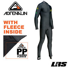 NEW Adrenalin Thermal 2P Fleece Lycra Rash Full Snorkelling Suit UV50+ Unisex