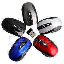 2.4GHz Wireless Optical Mouse Mice +USB Receiver For Computer PC Laptop Macbook