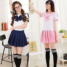 Popular Japanese School Girl Students Uniform Cosplay Sexy Anime Costume