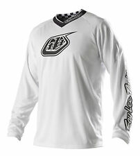 Troy Lee Designs Youth GP White-Out Motocross Jersey
