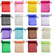 Organza Wedding Xmas Party Favor Gift Candy Bags Jewelry Pouches 9X7/12X9/13X18