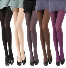 Sexy Slim Opaque Socks Womens Candy Color Elastic Pantyhose Hot Tights Footed