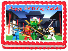NINJAGO Image Edible Cake topper party decoration
