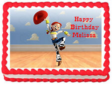 JESSIE Toy Story Image Edible Cake topper party decoration